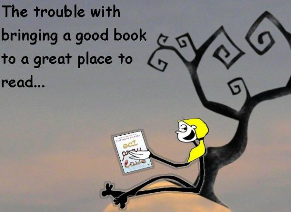 Take a good book to a great place The Shticks