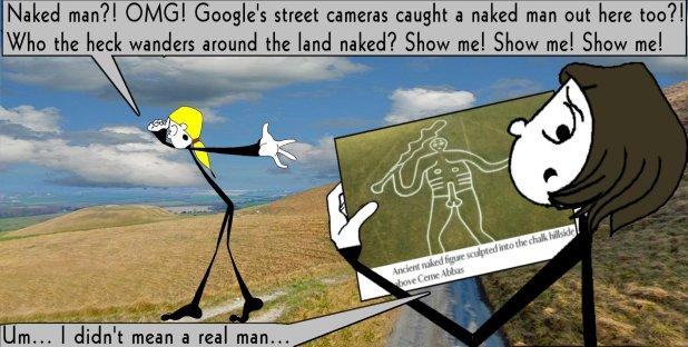 The naked man 2 The Shticks