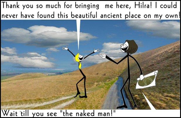 The naked man The Shticks