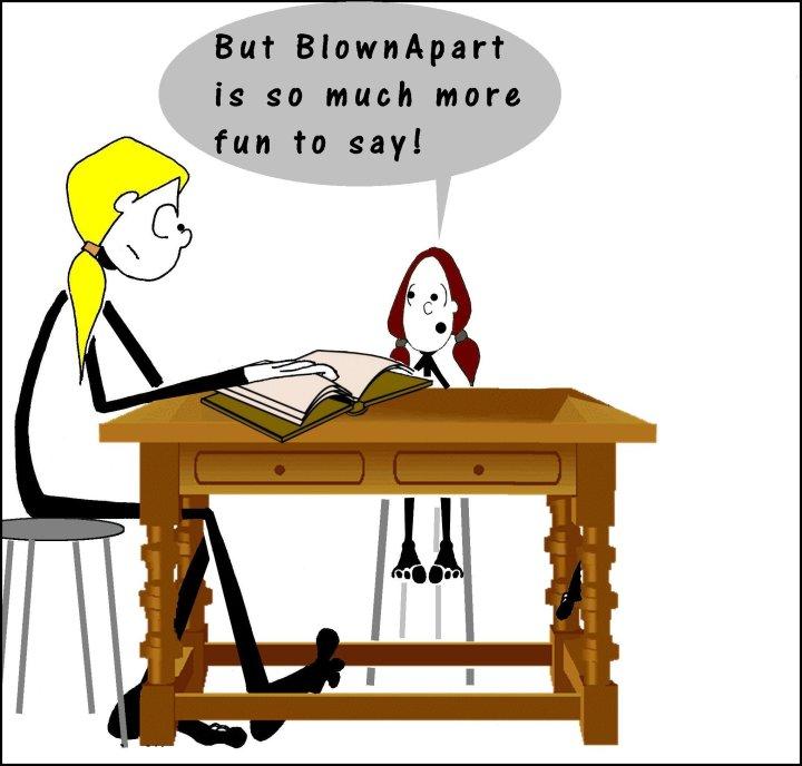 Napoleon Blownapart 4 the Shticks