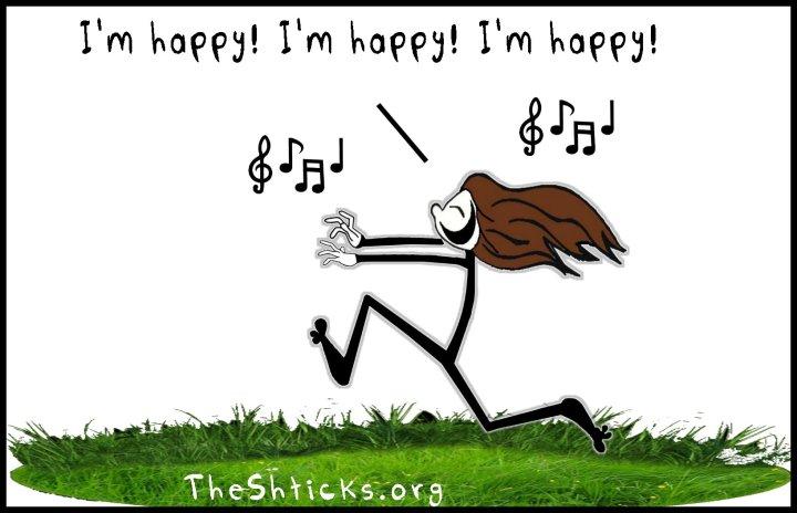 She's happy The Shticks
