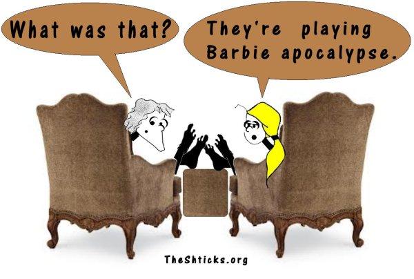 Barbie apocalipse4