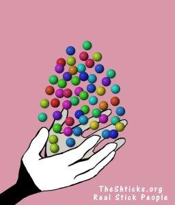 Candy Crush 3 The Shticks