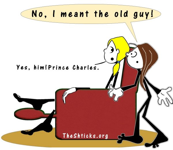 He's too old to be a prince 3 The Shticks