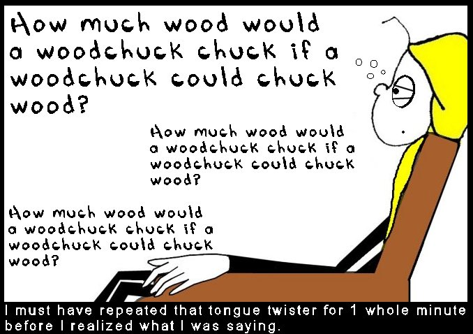 How much wood would a woodchuck chuck 999999999The 999 Shticks