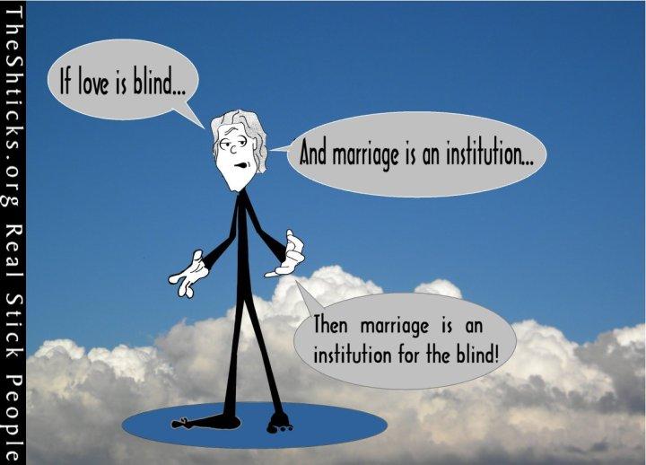 Institution for the blind 1 The Shticks