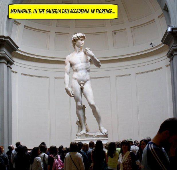 Michelangelo's David Shtick 4
