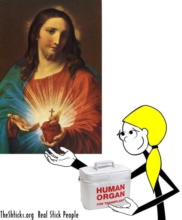 Sacred Heart Donor The Shticks